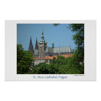 Cathedral of St. Vitus Print