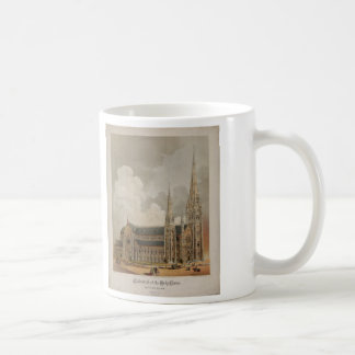 Cathedral of the Holy Cross Boston Mass. 1871 Coffee Mug