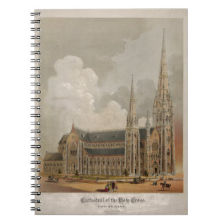 Cathedral of the Holy Cross Boston Mass. 1871 Notebook