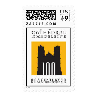 Cathedral of the Madeleine Centennial Celebration Stamp