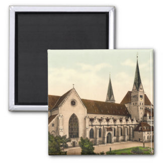 Cathedral of the Virgin Mary, Augsburg, Germany 2 Inch Square Magnet