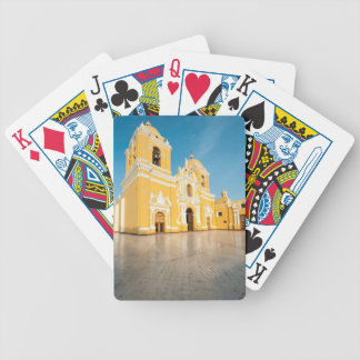 Cathedral Of Trujillo, Trujillo, Peru Bicycle Playing Cards