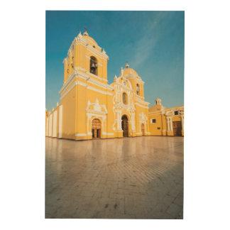 Cathedral Of Trujillo, Trujillo, Peru Wood Prints