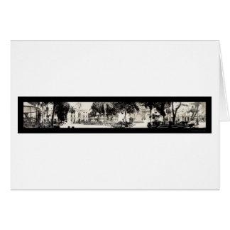 Cathedral Panama City Photo 1913 Card