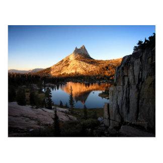 Cathedral Peak Sunset - John Muir Trail - Yosemite Postcard