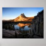 Cathedral Peak Sunset - John Muir Trail - Yosemite Poster
