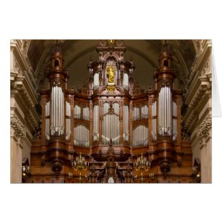 Cathedral  pipe organ, Berlin