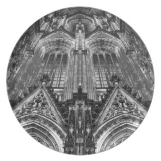 Cathedral Dinner Plates