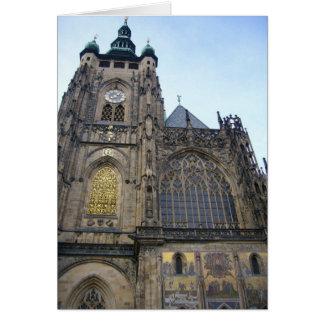 cathedral prague card