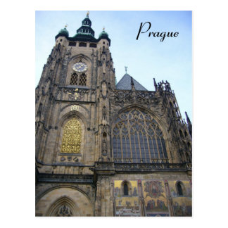 cathedral prague postcards