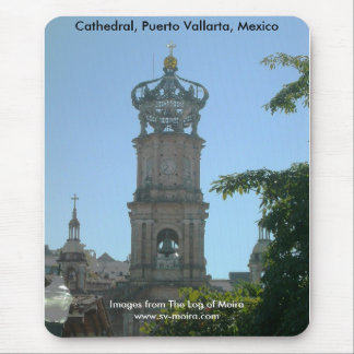 Cathedral, Puerto Vallarta, Mexico Mouse Pad