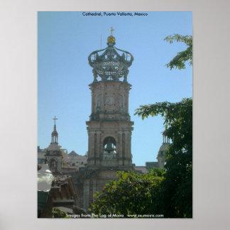 Cathedral, Puerto Vallarta, Mexico Poster