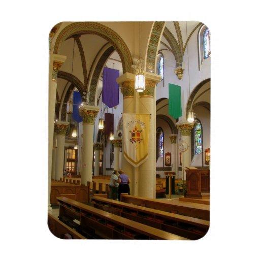 Cathedral Rectangular Photo Magnet