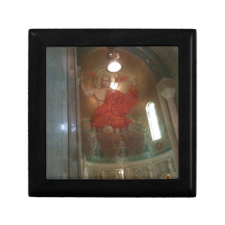 Cathedral religious painting jewelry boxes