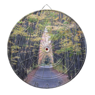 Cathedral Road Dartboard With Darts
