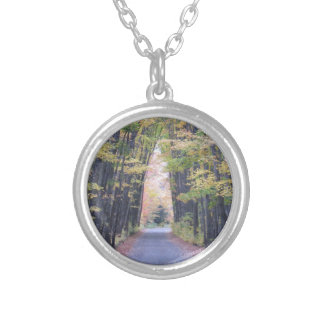 Cathedral Road Silver Plated Necklace