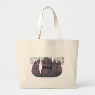 Cathedral Rock 3 Large Tote Bag