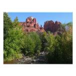 Cathedral Rock and Stream in Sedona Arizona Photo Print