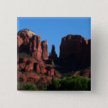 Cathedral Rock in Sedona Arizona Button