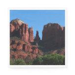 Cathedral Rock in Sedona Arizona Paper Napkin