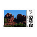Cathedral Rock in Sedona Arizona Postage