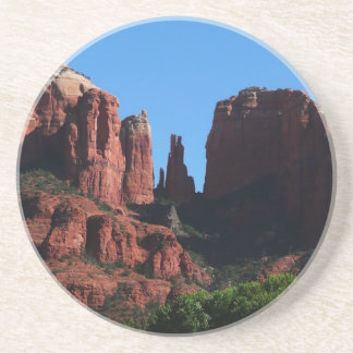 Cathedral Rock in Sedona Arizona Sandstone Coaster