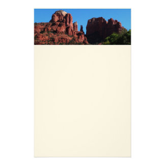 Cathedral Rock in Sedona Arizona Stationery