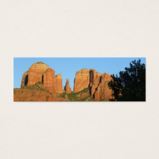 Cathedral Rock MiniCard Mini Business Card