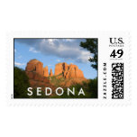 Cathedral Rock Postage Stamp