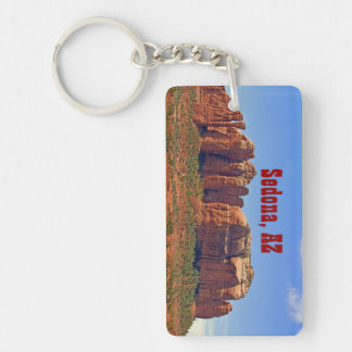 Cathedral Rock Rectangular Key Chain