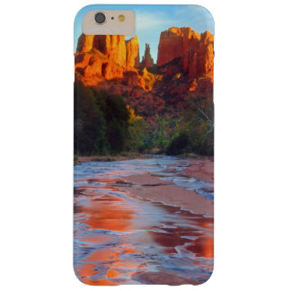 Cathedral Rock reflecting in Oak Creek at Sunset Barely There iPhone 6 Plus Case