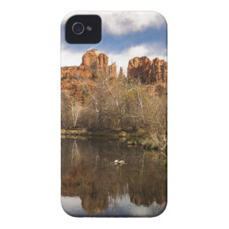 Cathedral Rock Reflections Portrait Case-Mate iPhone 4 Cases