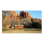 Cathedral Rock Scene Business Card