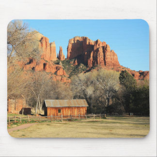 Cathedral Rock Scene Mouse Pad