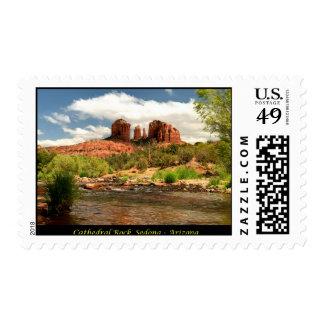 Cathedral Rock - Sedona, Arizona Postage