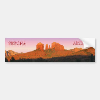 Cathedral Rock Sedona Panorama Bumper Sticker