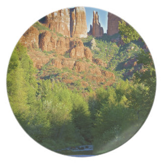 Cathedral Rock trail Sedona Party Plate