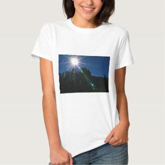 Cathedral Rock Vortex horizontal T Shirt