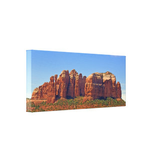 Cathedral Rock Wrapped Canvas Canvas Prints