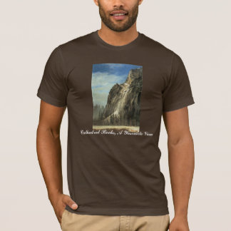 Cathedral Rocks, A Yosemite View T-Shirt