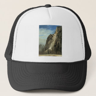 Cathedral Rocks, A Yosemite View Trucker Hat