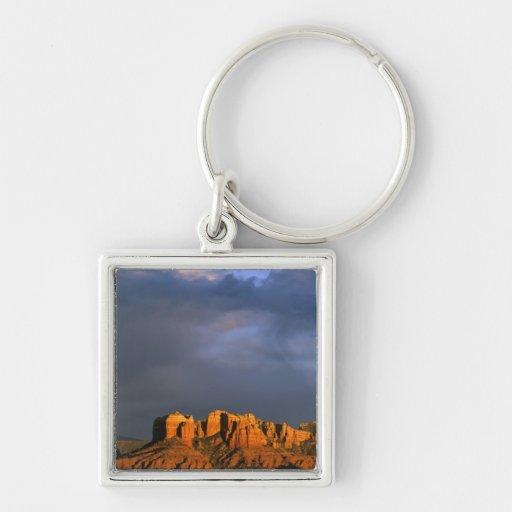 Cathedral Rocks in Sedona Arizona Key Chains