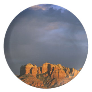 Cathedral Rocks in Sedona Arizona Party Plate