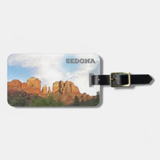 Cathedral Rocks - Sedona, Arizona Bag Tag