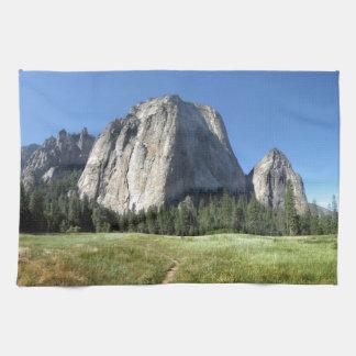Cathedral Rocks - Yosemite Kitchen Towels