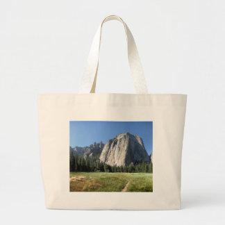 Cathedral Rocks - Yosemite Large Tote Bag