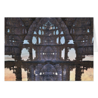 cathedral ruins card