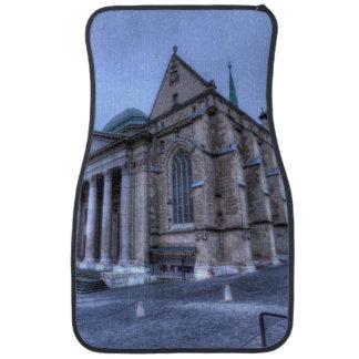 Cathedral Saint-Pierre, Peter, Geneva,Switzerland Car Floor Mat