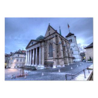 Cathedral Saint-Pierre, Peter, Geneva,Switzerland Card