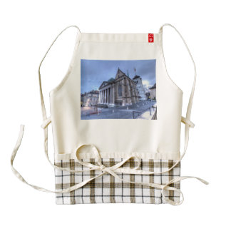 Cathedral Saint-Pierre, Peter, Geneva,Switzerland Zazzle HEART Apron